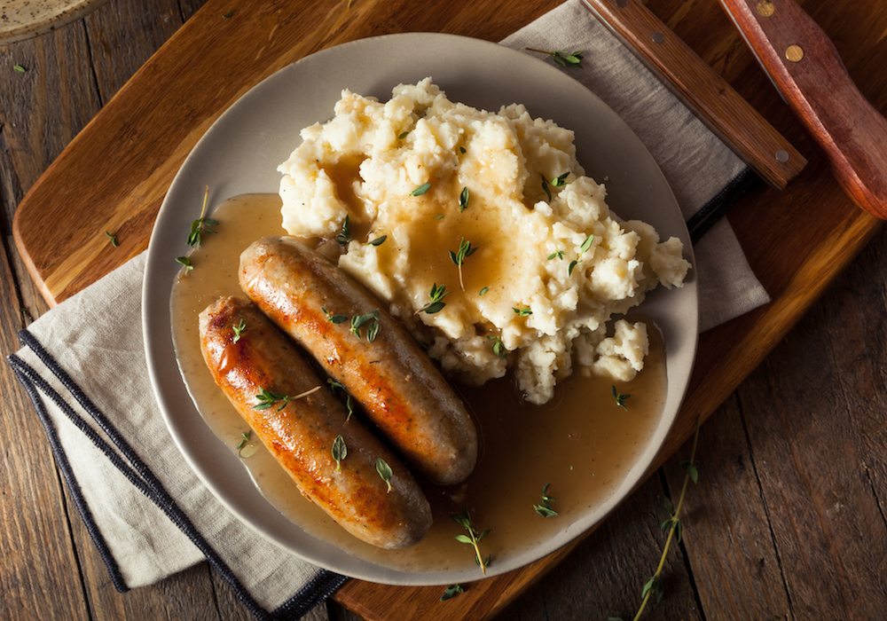 bangers-mashed-potatoes