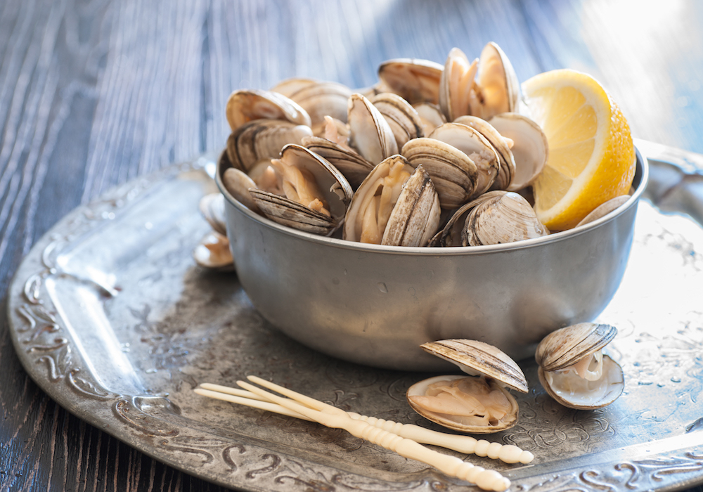 fresh-steamed-clams